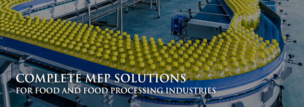 MEP solution for food processing industry dubai
